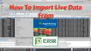 Angel Speed Pro To Microsoft Excel