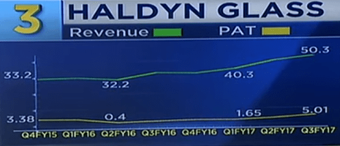 Haldyn Glass Ltd Net Profit
