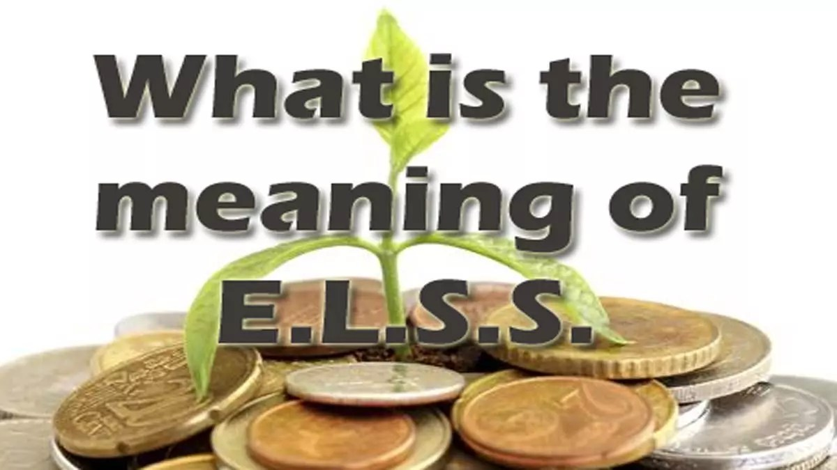What is Meaning of ELSS/Equity Linked Savings Scheme?