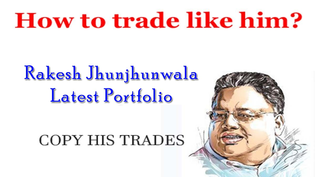 Latest Rakesh Jhunjhunwala Portfolio 2019 Holding