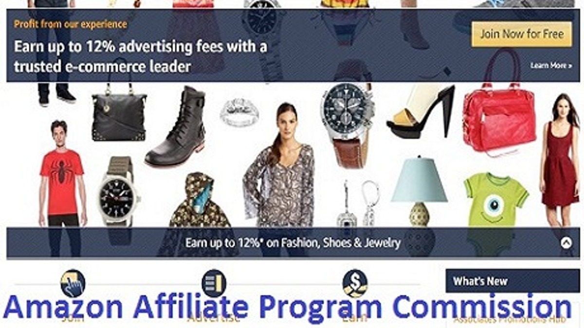 Amazon Affiliate Program Commission – A Quick Guide