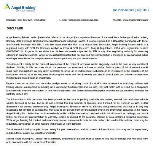 angel broking disclaimer