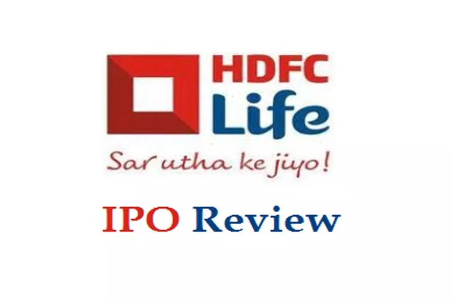 Hdfc standard life ipo listing price