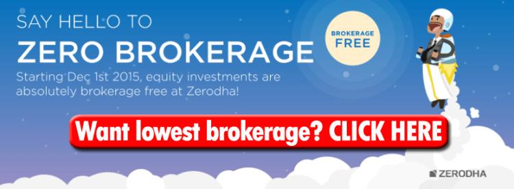Lowest Brokerage For Online Trading