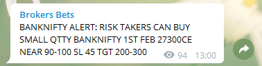 Bank Nifty Options Trading