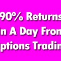 Volatile Market Option Strategy