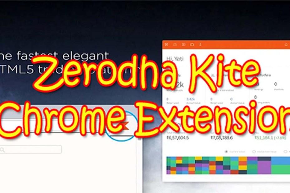 Zerodha Kite Extension