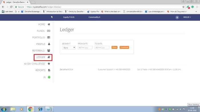 backoffice ledger