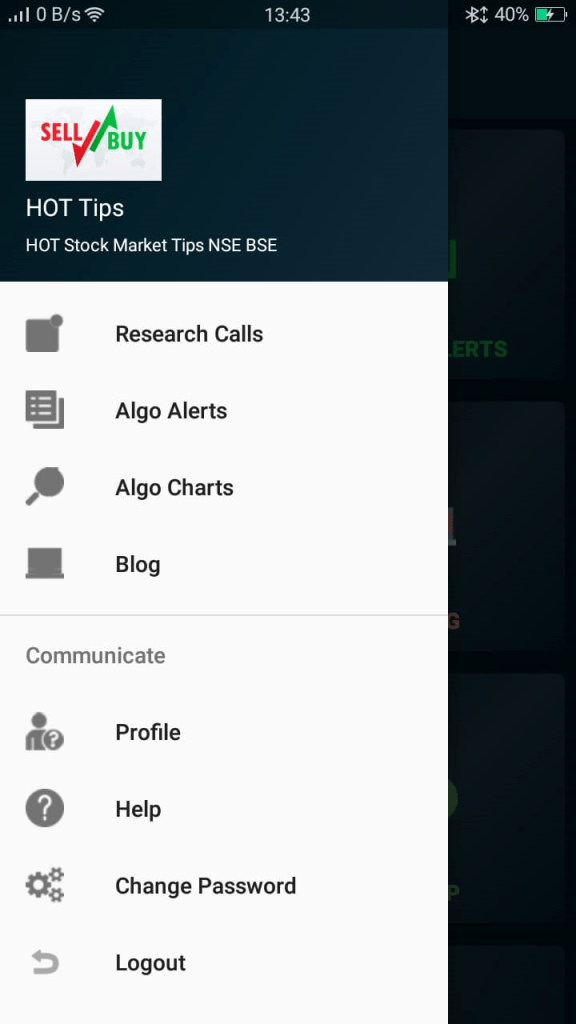 Stock Market Intraday Tips App one