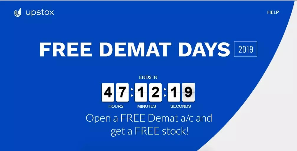 free demat and trading account opening