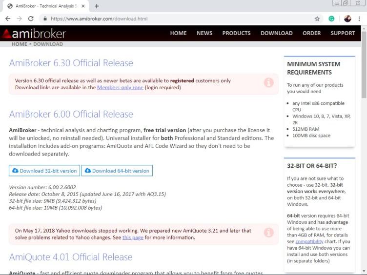 Amibroker Software Review Demo