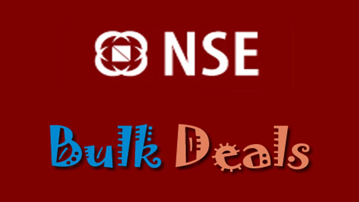 NSE Bulk Deals