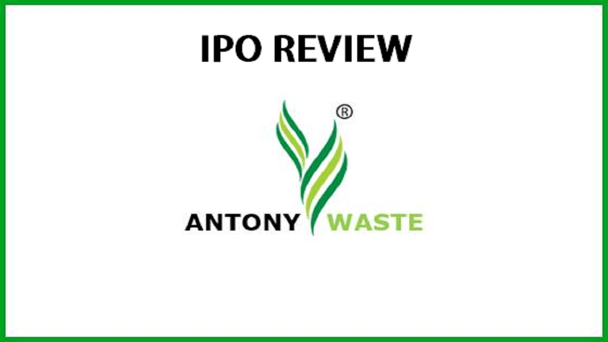 Antony Waste Handling Cell IPO Review