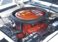 Dodge Challenger T/A Engine