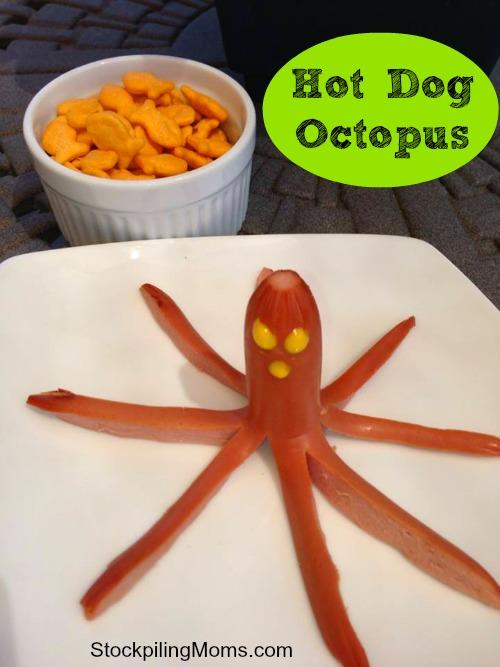 hot dog octopus