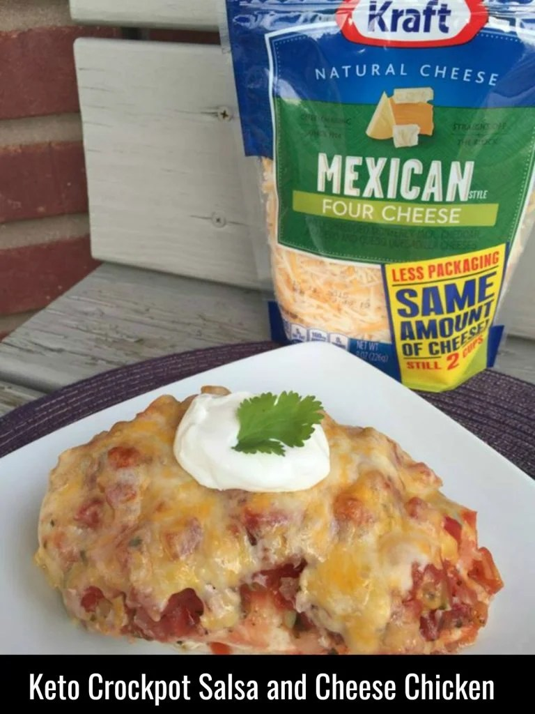 Salsa & Cheese Chicken