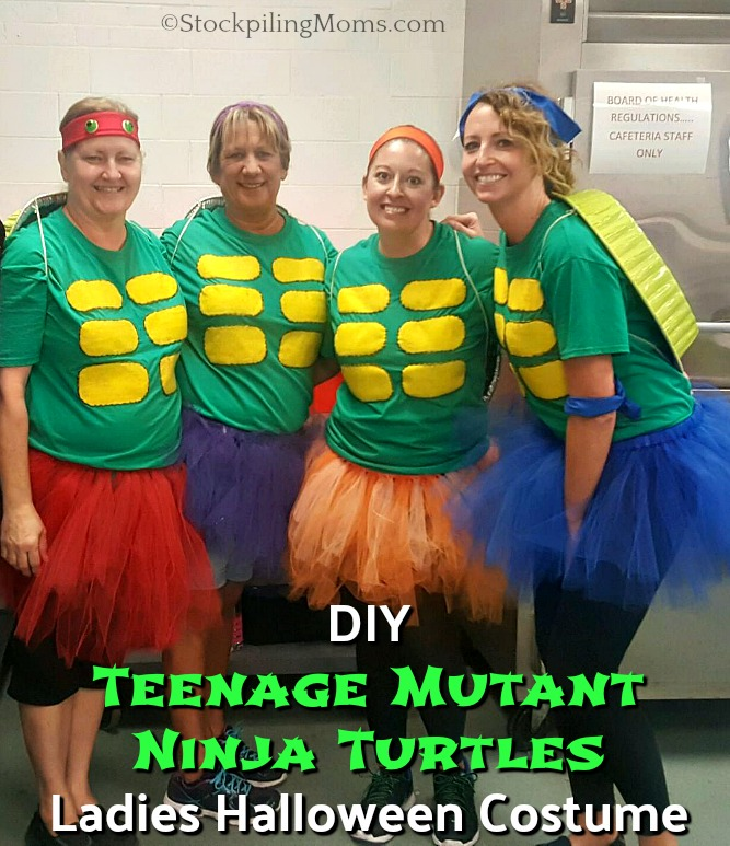 Diy female teenage mutant ninja turtle costume poemsrom diy teenage mutant ninja turtles las costume solutioingenieria Gallery