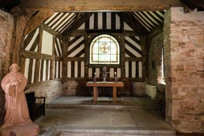 Chadkirk Chapel (inside view)