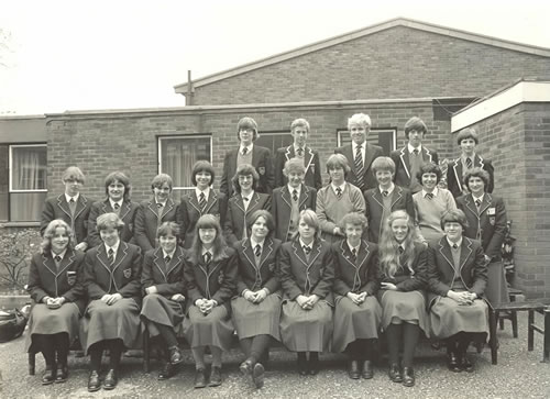 New entrants to the Sixth Form, 1980 - 1981