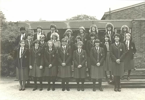 New entrants to the Sixth Form, 1982 - 1983
