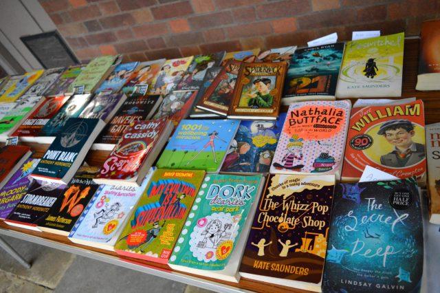 World Book Day Cake & Book Sale