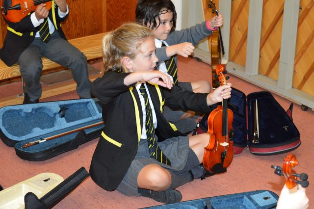 Junior Instrument Introductions