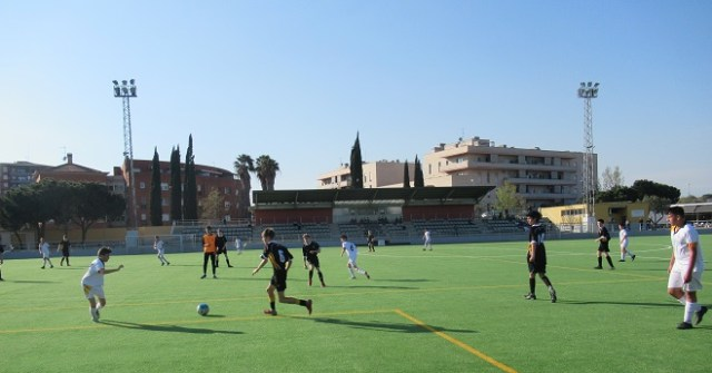 Football Tour to Barcelona - players in action