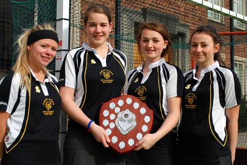 Manchester schools under-18s hockey tournament champions