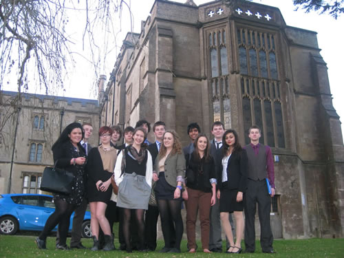 Pupils at Kingswood School MUN conference
