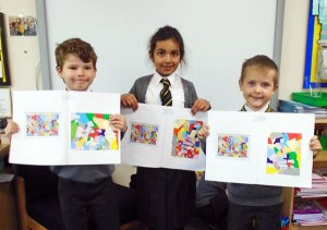Year Two have been studying Sonia Boyce and completed some artwork in her style