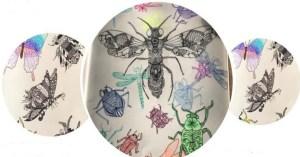 Third Year bugs and beetles artwork