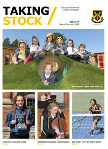 Cover page of Issue 77 of Taking Stock