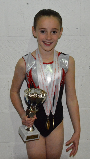 Katie Lee - Overall Champion aged 10