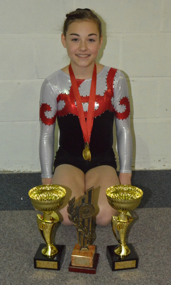 Becky Mooney - Level 3 Champion Winner of the Frank Williams Trophy