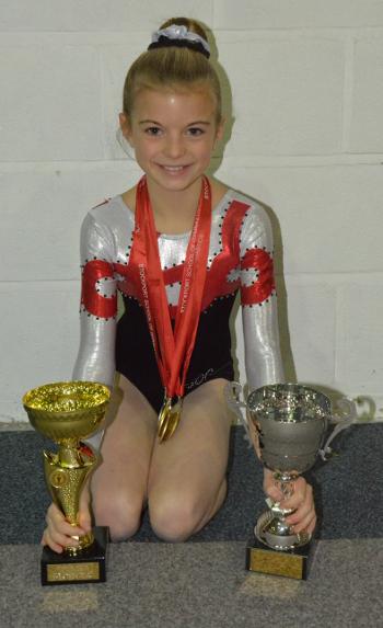 Anna Marsh - Novice Junior Champion Winner of the Novice Cup
