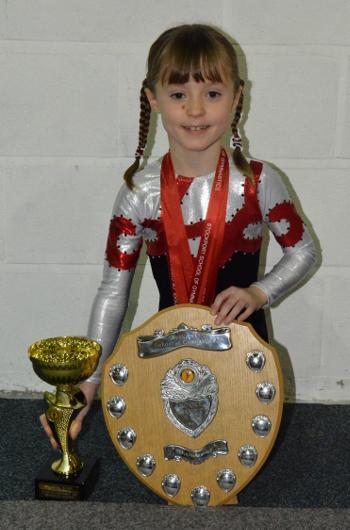 Kate Wigglesworth - Pre-Novice Champion Winner of the President's Shield