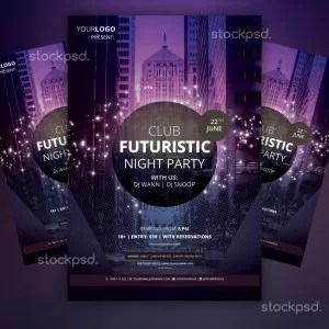 club-futuristic-preview-free-flyer
