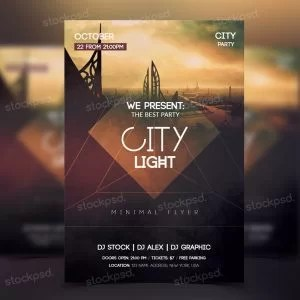city-light-flyer-preview-free