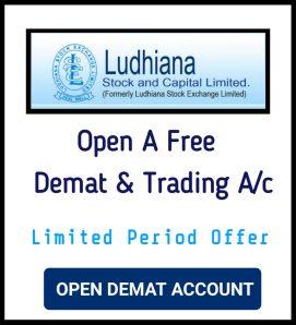 Open Demat Account With Ludhiana stock Broking
