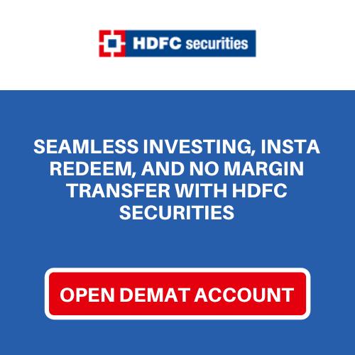 open hdfc securities blink Demat account