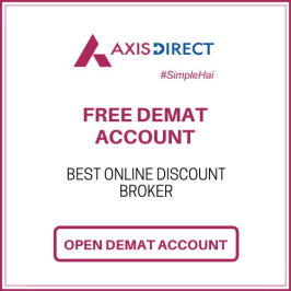 Axis Direct Free Demat account