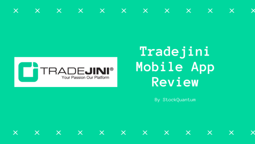 Tradejini Mobile App Review