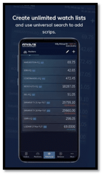 Finvasia Scalpert App Screenshot