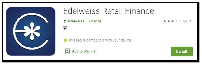 Edelweiss Retail Finance app