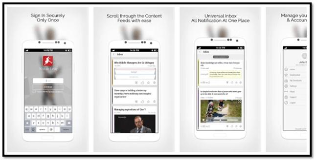 Kotak Leap App Login Screen