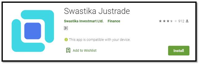 Swastika Justrade Mobile App
