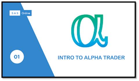 SAS Alpha Trading App