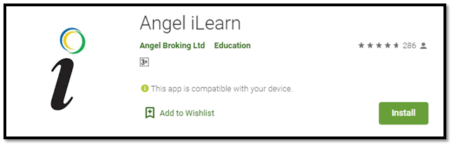 Angel Broking iLearn app
