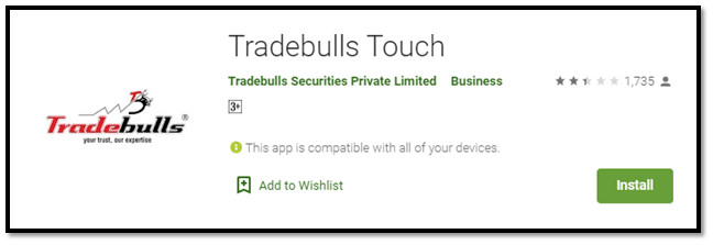 Tradebulls Touch – Mobile App