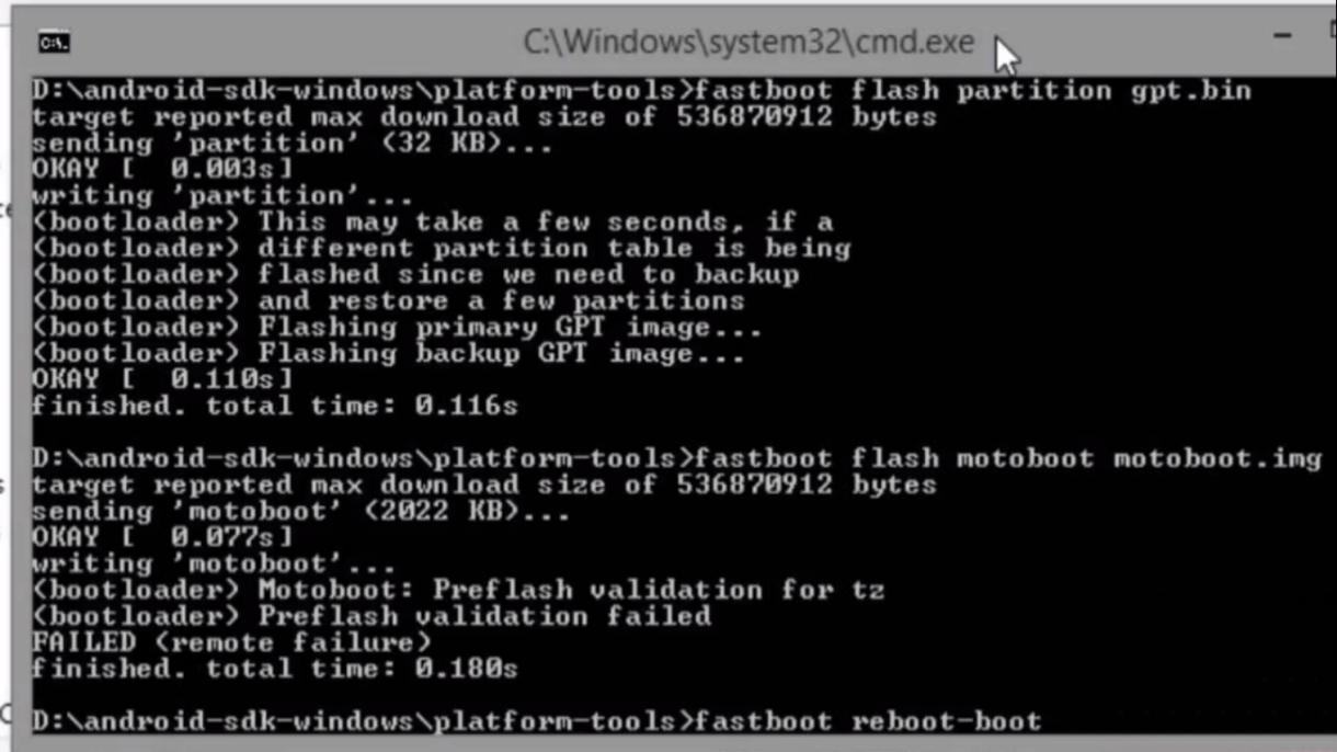 Tutorial – Instalação Stock Rom Motorola no Modo Fastboot